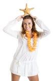 Starfishfrau Lizenzfreies Stockfoto