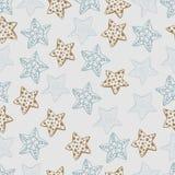 Starfishmuster Lizenzfreie Stockfotos