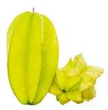 Starfruit或阳桃II 库存图片