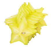 Starfruit或阳桃VII 免版税库存图片