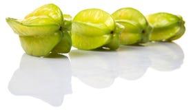 Starfruit或Carambula果子III 库存图片