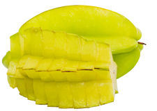 Starfruit or Carambola V Stock Photos