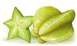 Starfruit della carambola Immagine Stock