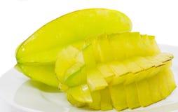 Starfruit eller Carambola III Royaltyfria Bilder