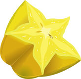 Starfruit icon Royalty Free Stock Photography