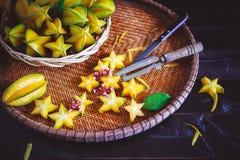 Starfruitsen Royaltyfri Foto