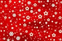 Starful Christmas Background Stock Photos