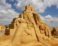 «Stargate» Akhenaten (Amenhotep IV) - pharaon de l'Egypte antique Photos libres de droits