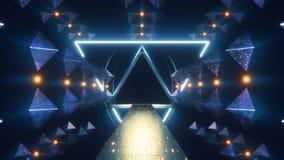 Stargate främmande konstruktion fotografering för bildbyråer