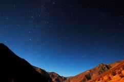 Stargazing Elqui Valley Royalty Free Stock Photos