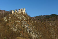 Starhrad Castle, Slovakia Stock Images