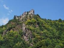 Starhrad Castle (Strecno), Slovakia Stock Image