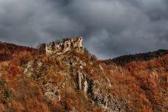 Starhrad - Mala Fatra - Slowakei Stockfotografie