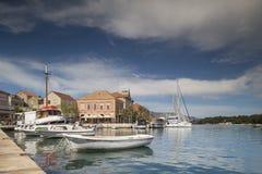 Stari-Absolvent, hvar Insel Kroatien Stockfotos