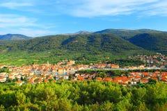 Stari-Absolventstadt auf Insel Hvar, Kroatien Lizenzfreie Stockbilder
