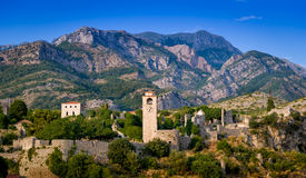 Stari Bar fortress landscape Royalty Free Stock Images