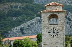 Stari Bar, the middle ages city. Montenegro stock photo