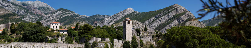 Stari Bar Panoramic Royalty Free Stock Image
