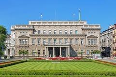 Stari Dvor (vecchio palazzo) a Belgrado, Serbia fotografie stock