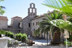Stari Grad, Budva, Mintenegro Stock Afbeeldingen