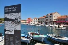 Stari Grad, Hvar, Croatia Stock Image