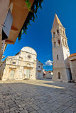 Stari Grad on Hvar island square Stock Photography