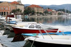 Stari Grad, Hvar, Kroatië royalty-vrije stock afbeeldingen