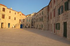 Stari Grad in Hvar. Royalty Free Stock Images