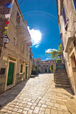 Stari Grad On Hvar Island Old Square Royalty Free Stock Photography