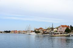 Stari Grad Port Royalty Free Stock Photos