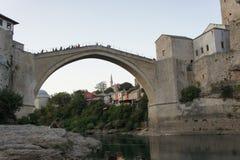 Stari mest bro Royaltyfria Bilder