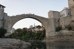 Stari most bridge Royalty Free Stock Images