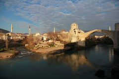 Stari Most of Mostar Royalty Free Stock Photography