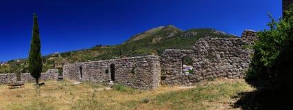 Stari Prętowy Montenegro fotografia stock