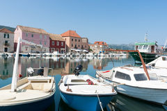 Starigrad harbor, Hvar, Croatia. Stock Images