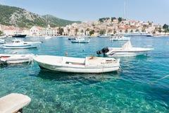 Starigrad on island of Hvar, Croatia. Royalty Free Stock Images