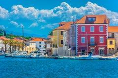 Starigrad oude stad in Kroatië, Eiland Hvar royalty-vrije stock fotografie