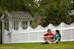 Staring Couple - Horizontal Royalty Free Stock Photo