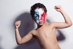 Stark amerikansk patriot Arkivfoto