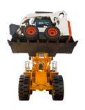 stark bulldozer mycket Arkivbilder