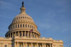 Stark Förenta staternaKapitoliumbyggnad, USA-kongress, Washington DC, USA royaltyfri fotografi