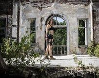 stark flicka Royaltyfri Fotografi