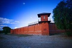 Prison Tower at Historic Gaol Royalty Free Stock Photos