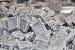 Stark-lukta bevarad tofu/jäste tofu med lukten/tofu med lukt arkivfoton