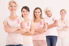 Starka och säkra kvinnor Arkivfoto