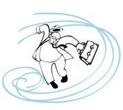 starka winds vektor illustrationer