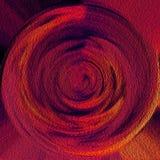 Starke Ölfarbekunst Schöne Tapeten-Auslegung Bunte Beschaffenheit und Hintergrund Gekräuselter Kopienraum Modernes Digital-Grafik lizenzfreie abbildung