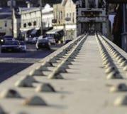 Starke Brückenstrahlen Stockbilder