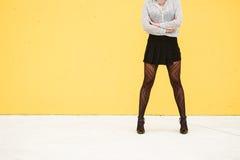 Starke Frauenenergie für kommerzielle Aufgabe Lizenzfreie Stockfotografie