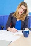 Starke Frauenfunktion Lizenzfreie Stockfotos